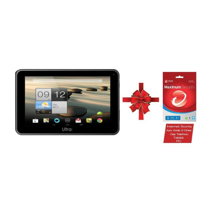TechnoPC Ultrapad UP768 Siyah Tablet PC