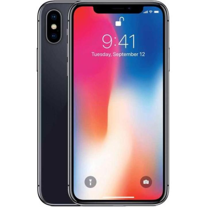 Apple iPhone X 64 GB 5.8 İnç 12 MP Akıllı Cep Telefonu Uzay Grisi