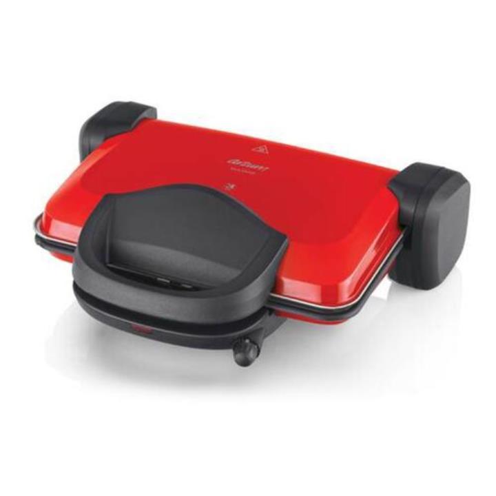 Arzum Sultane AR2007 1800 W 4 Adet Pişirme Kapasiteli Tek Yönlü Izgara ve Tost Makinesi Kırmızı Yorumları