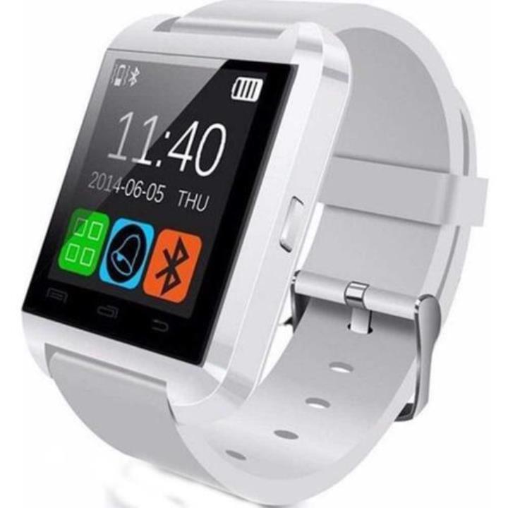 Case 4U U8 Beyaz Akıllı Saat