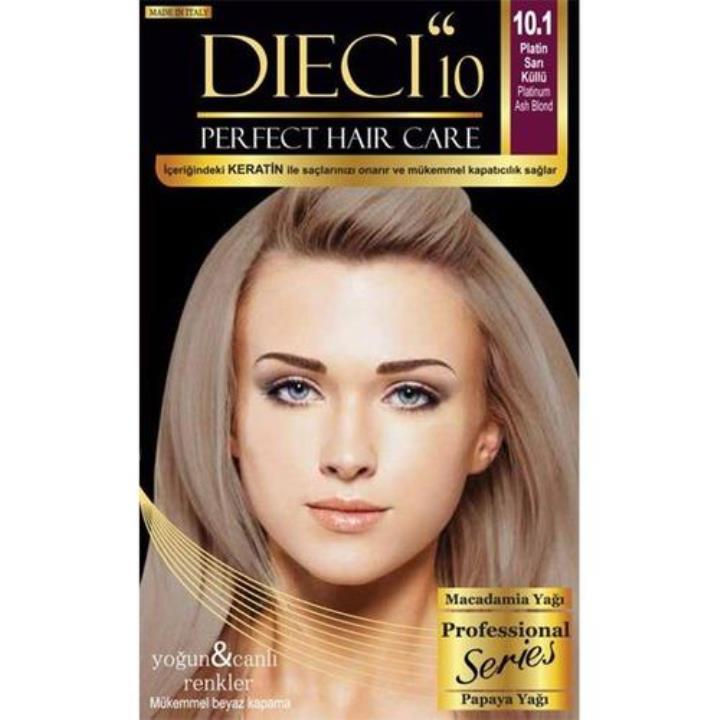 Dieci 10 Kit 101 Platin Sarı Küllü Saç Boyası Yorum Ve Tavsiyeleri