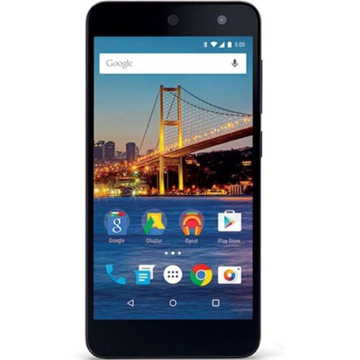 General Mobile 4G Android One Dual Siyah