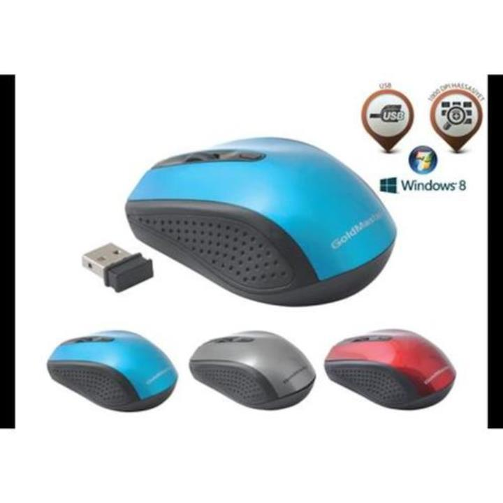 Goldmaster MS-136 Mavi Lazer Mouse