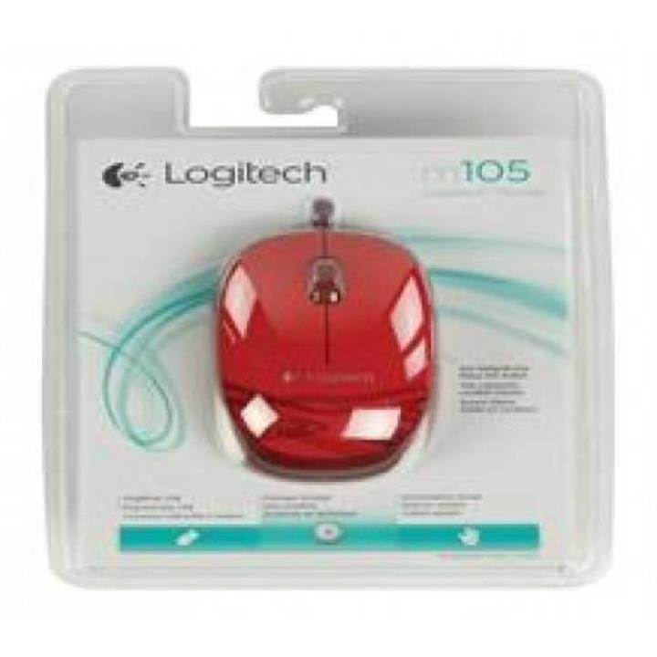 Logitech 910-002945 M105 Kırmızı Mouse Yorumları