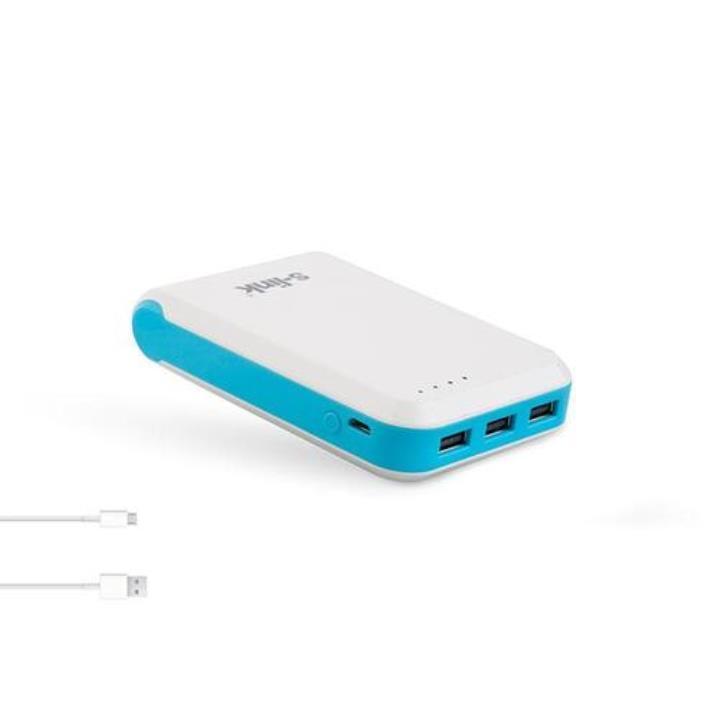 S-Link IP-955 10400 mAh 2.1A-1A-1A 3 USB Çıkışlı Taşınabilir Şarj Cihazı Mavi Yorumları
