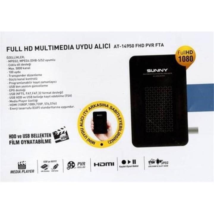 Sunny AT-14950 Mini Uydu Alıcı