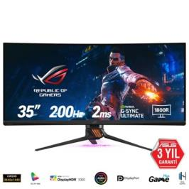 Asus PG35VQ Curved 2Ms Siyah Led Monitör