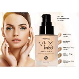 Farmasi Vfx Pro Camera Ready Foundation Dark Beige 03 Fondöten